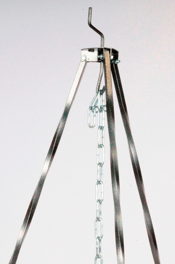 Bogrács driepoot 1.50 cm