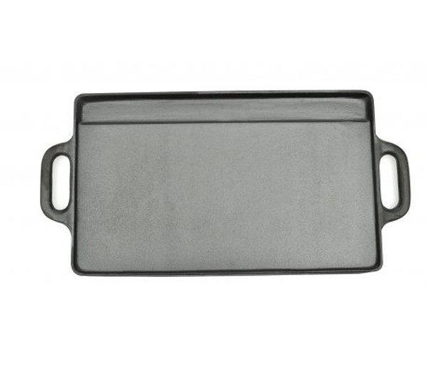grillplaat van gietijzer
