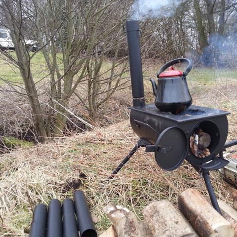 Frontier stove houtkachel