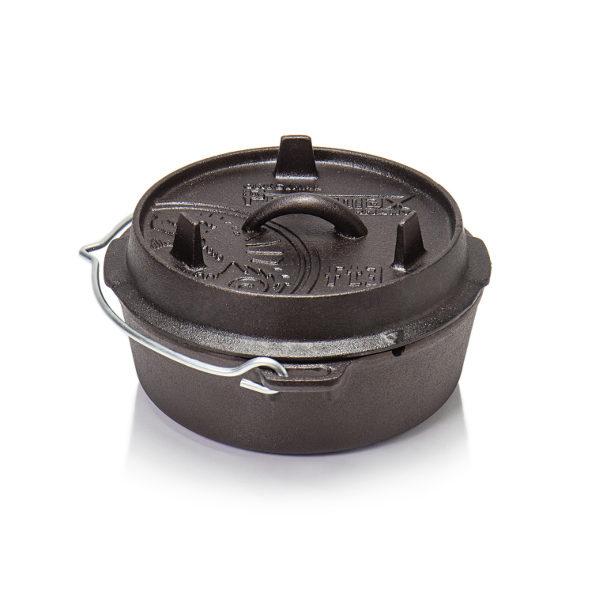 Petromax Dutch Oven ft3 vlakke bodem