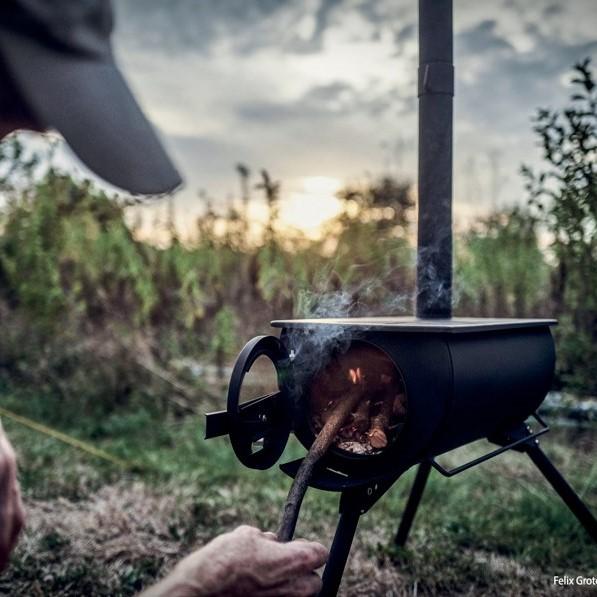 Frontier stove loki tent houtkachel