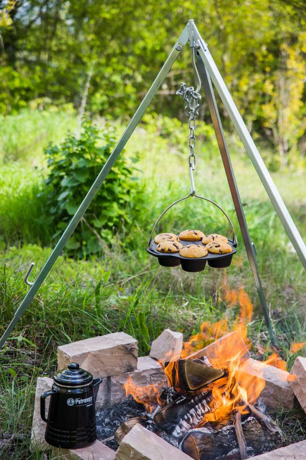 Petromax gietijzeren muffin bakvorm