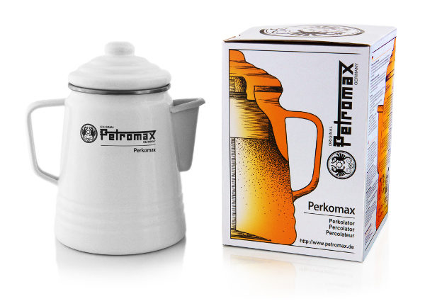 Petromax koffie percolator Wit