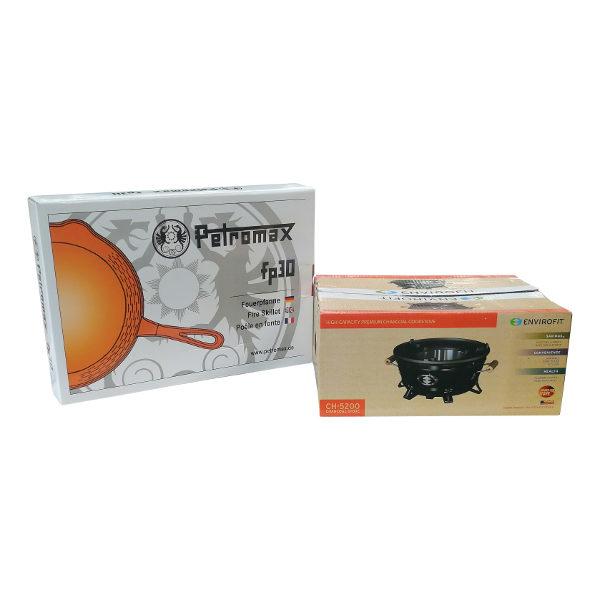 Envirofit Ch 5200 met gietijzeren bakpan