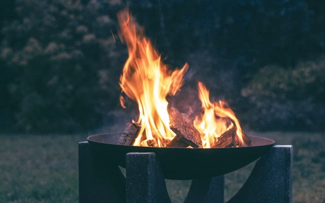 Winter bbq warmtebronnen