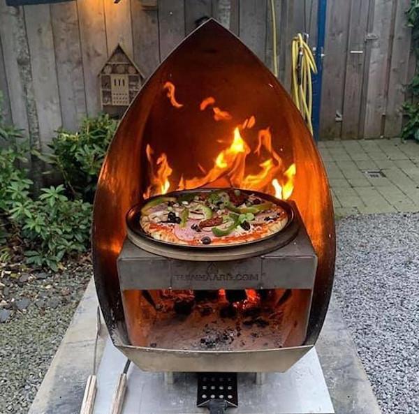 vuurhaard pizza