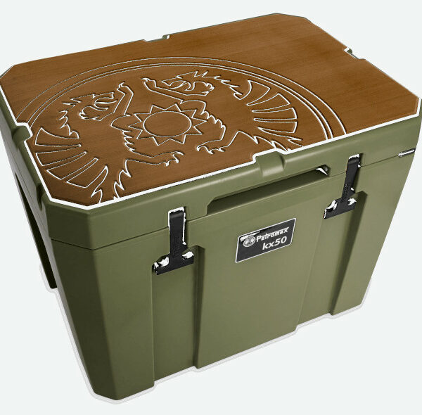 Petromax koelbox beschermer bruin